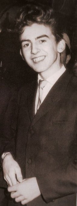 Happy birthday to the late George Harrison who was born  today in 1943.