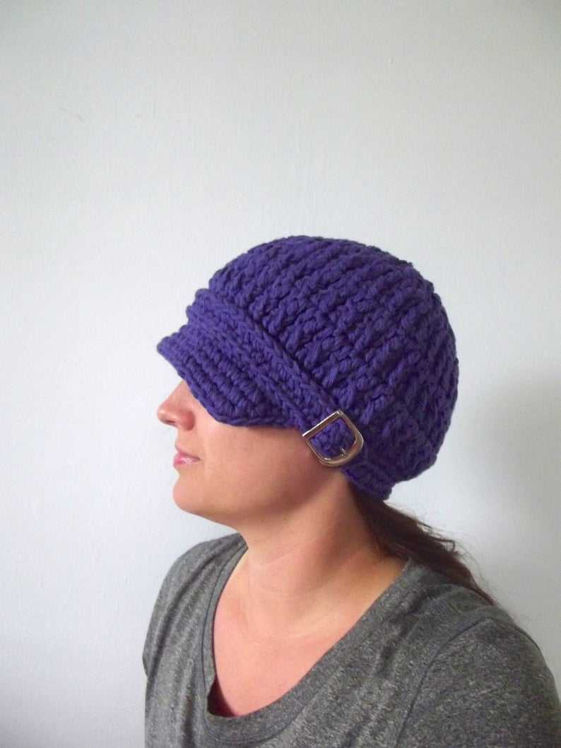 Renewed this expired @etsy item    FREE US shipping purple baby, toddler, girl, & women's buckle newsboy hat ~ 31 other colors  #etsy #handmade #handcrafted #purple #accessory #accessories #mompreneur #momboss #girlboss