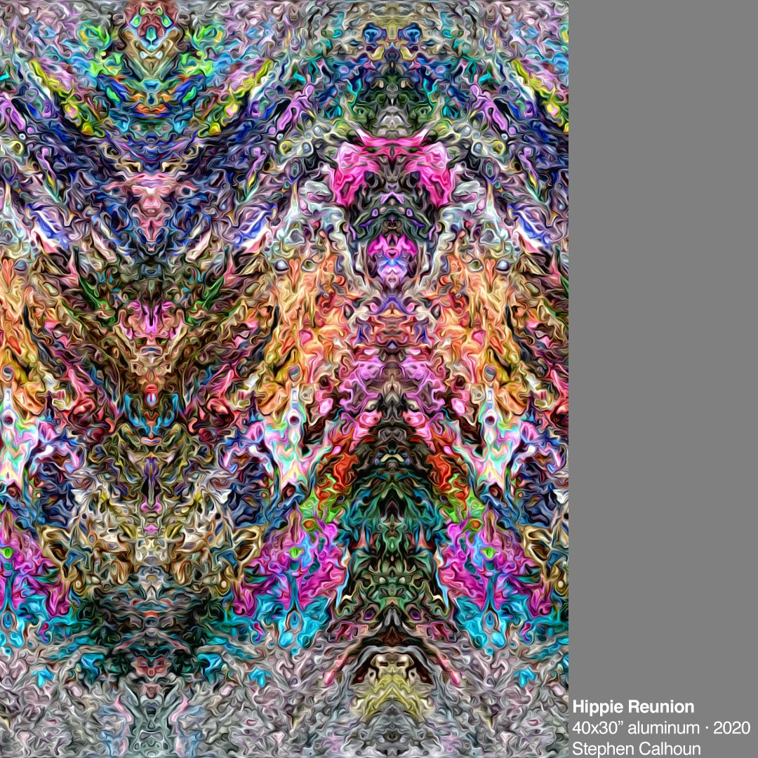 new photo #generative artwork  http://artiststephencalhoun.com #cleveland #artist #world #art