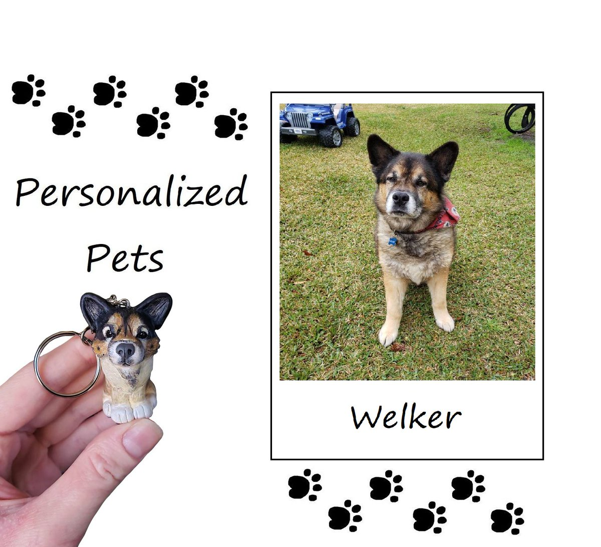 My most recent customer order of a personalized pet dog! Shop link in bio! Video on YT! - #dogs #doggy #pets #etsy #etsyshop #etsysellers #polymerclay #clay #miniature #mini #sculpture #art  #keychain #handmade #crafts #craftspeople #handmadebyme #handmadehour #handmadegifts