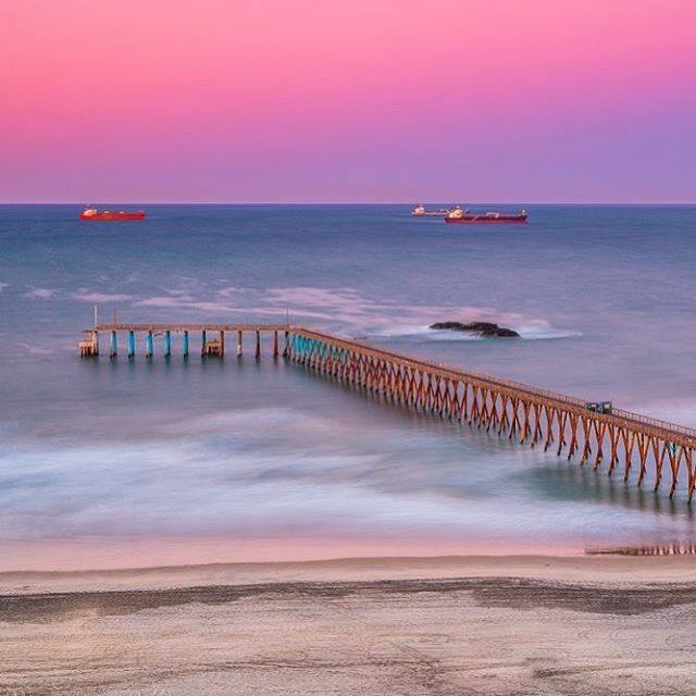 #Rosarito sunrise! 😊 Begin your adventure by visiting:  📷alexbaltovphoto  #Baja #BajaCalifornia #DescubreBaja #DiscoverBaja #BC #Playa #Beach #Ocean #Sea #Mar #Sky #Skies #Blue #Water #Relax #Sand #Arena #Olas #Waves #Surf