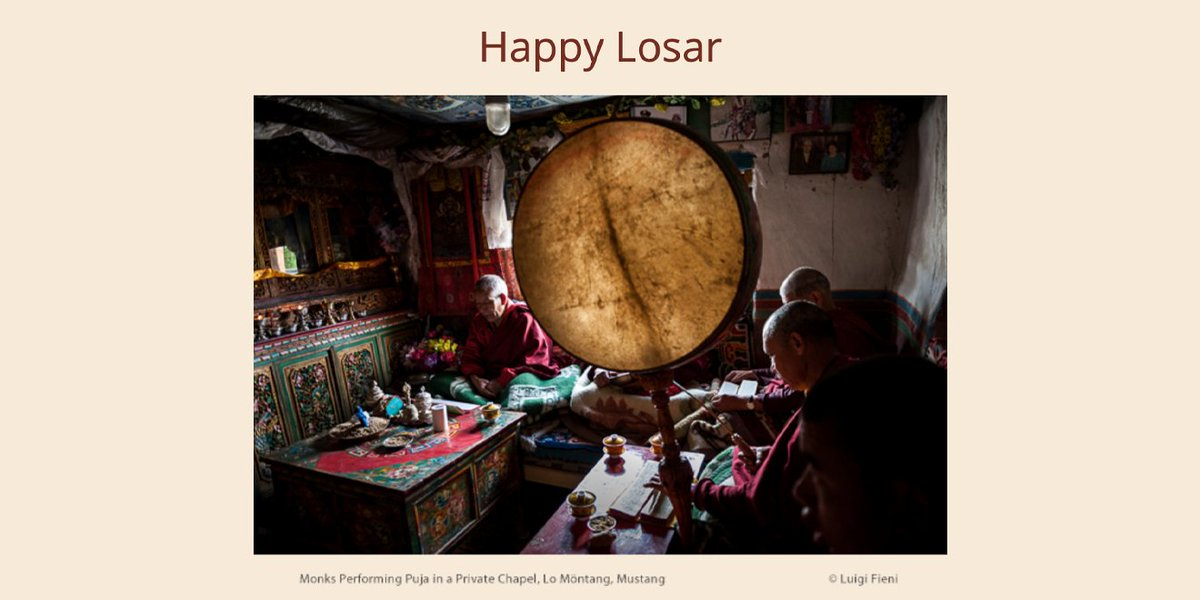 Within the hidden Kingdom of Mustang, Tibetan Buddhist tradition is continuing in itshistorical authenticity. The culture of Mustang is re-awakening and it is a profound lesson for us all.  #kingdomofmustang #tibetan #nepal  Learn more: http://ow.ly/2O4X50yw0MF