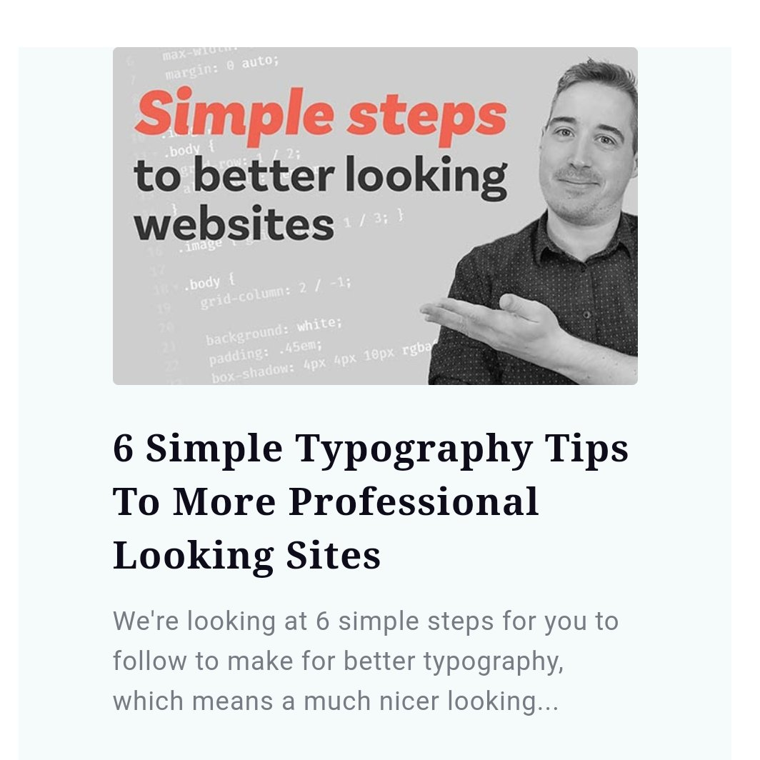 Saw this in the @ewebdesigncom newsletter. Congrats, @KevinJPowell👍  #Design #WebDev #WebDesign #WebDevelopment #Typography
