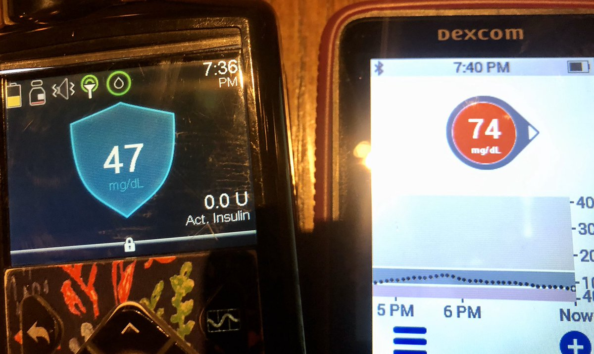 When friends get together sometimes their numbers are dyslexiic. #type1diabetes #doc #IGetIt pic.twitter.com/zECV7ekElD