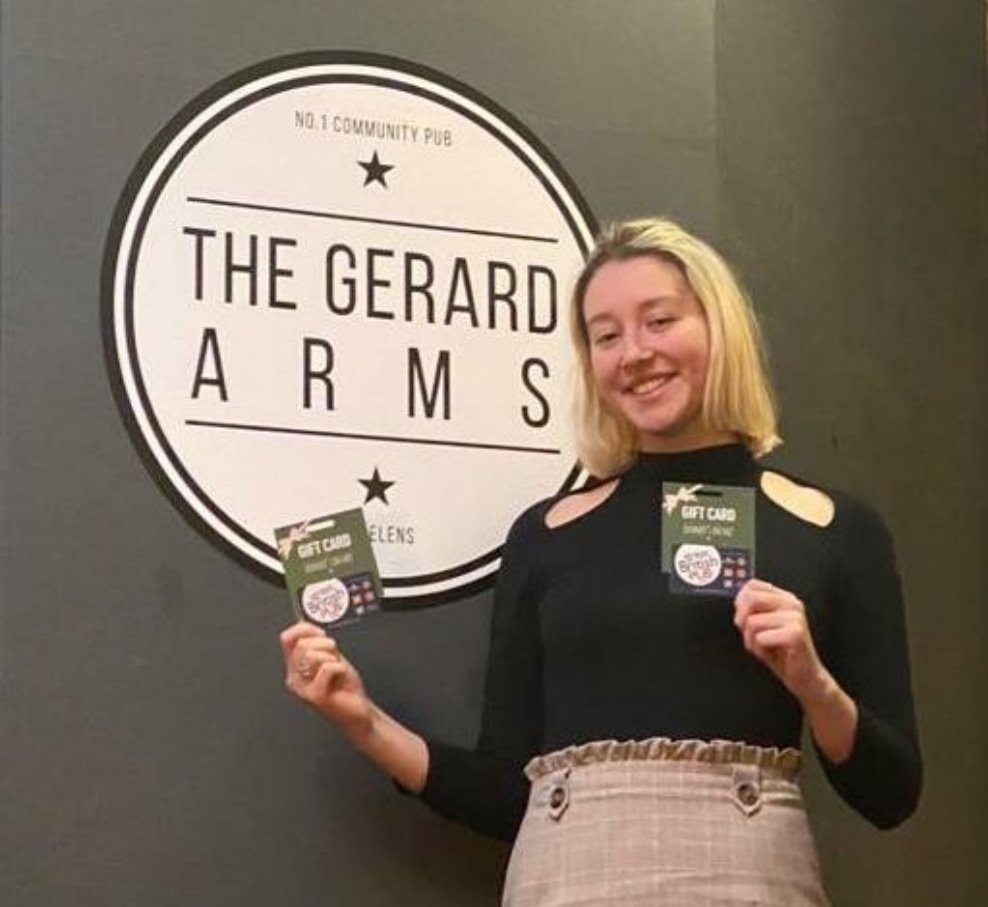 Replying to @Priscil61885303: RT @TheWiganRunner: 💷 WIN a £40 GIFT CARD 💷  ✔LIKE ✅RETWEET ✔FOLLOW @TheGerardWA10  Weve teamed up w/ The Gerard Arms 🏤 & @FlamingGrillPub 2 give away a £40 GiftCard 💷  📆 Winner picked Sunday  Enter on T, FB or Insta  #Compet…