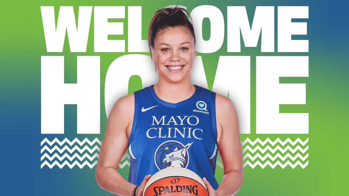 RT @minnesotalynx: WELCOME HOME, @RACHELBANHAM_1!!!! https://t.co/lyvBXoo0KU