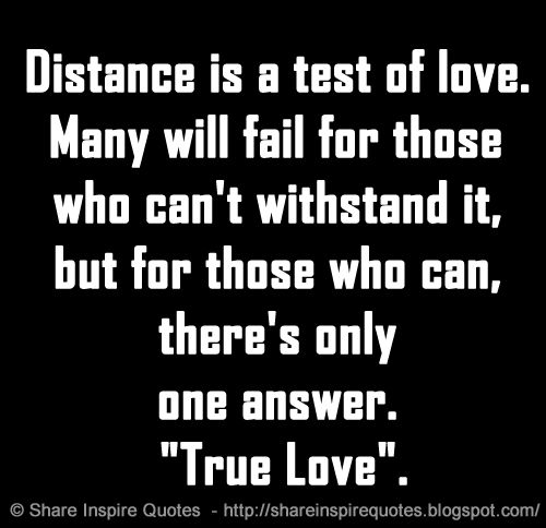"Distance is a test of love. Many will fail for those who can't withstand it, but for those who can, there's only one answer. ""True Love"".  Website - https://buff.ly/3c8P6lN   #love #lovequotes #famousquotes #quotes #MondayMotivation #whatsappstatus #WhatsApppic.twitter.com/lT0w7XTqci"