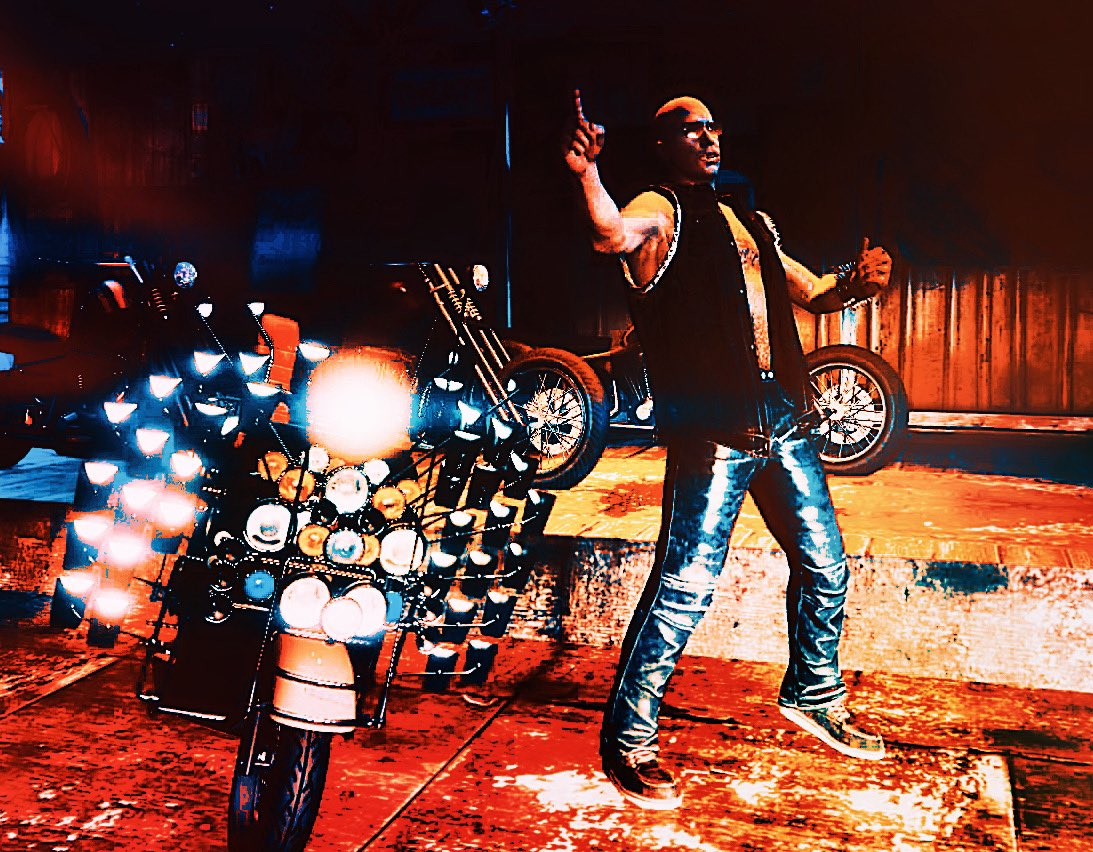 "『Burn your heart』  There's a fire starting in my heart .  ""Faggio MOD""  #GTAV  #GTAOnline  #RockstarGames  #RockstarEditer  #GTAPhotoStudio  #GTA写真部 #GTAVoguepic.twitter.com/UVeD7PTNUV"