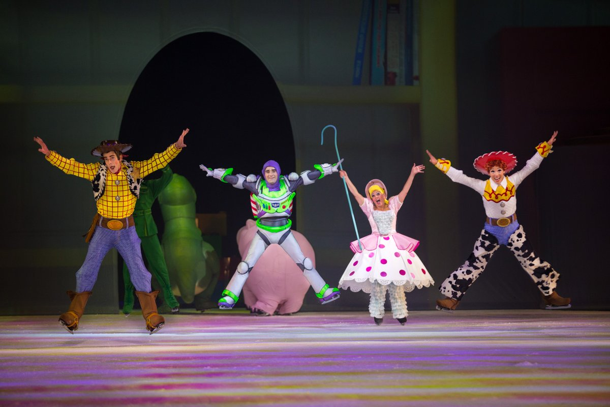 Playtime is twice as nice when it's on ice! Catch your favorite Toy Story characters in Disney On Ice! Buy two tickets for $29 using code Leap29 through March 1. See site for details: https://t.co/zFsBgvn7Fu https://t.co/7zynrl7j4E