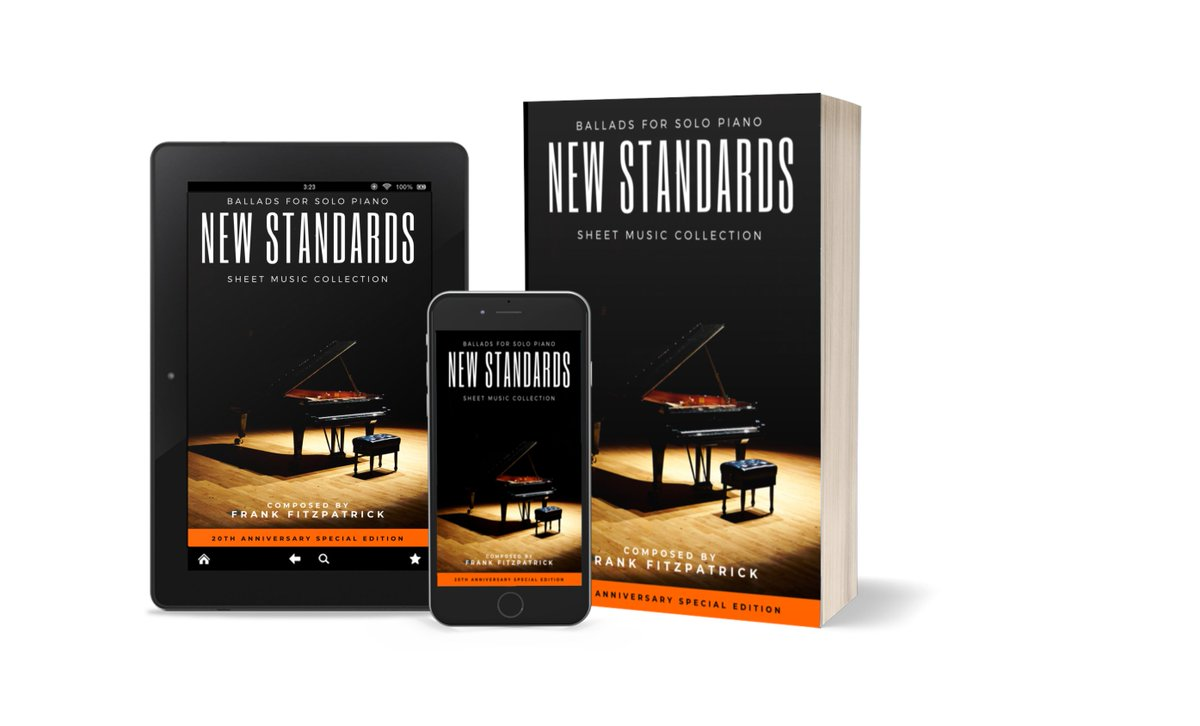 "I've been working on something special for the past few weeks. For the first time, we will be releasing a music sheet book for my latest album ""New Standards: Ballads for Solo Piano"". Follow the updates, and order your digital copy today! #MusicBook #Piano #SoloPianopic.twitter.com/UzBPqhV6T2"
