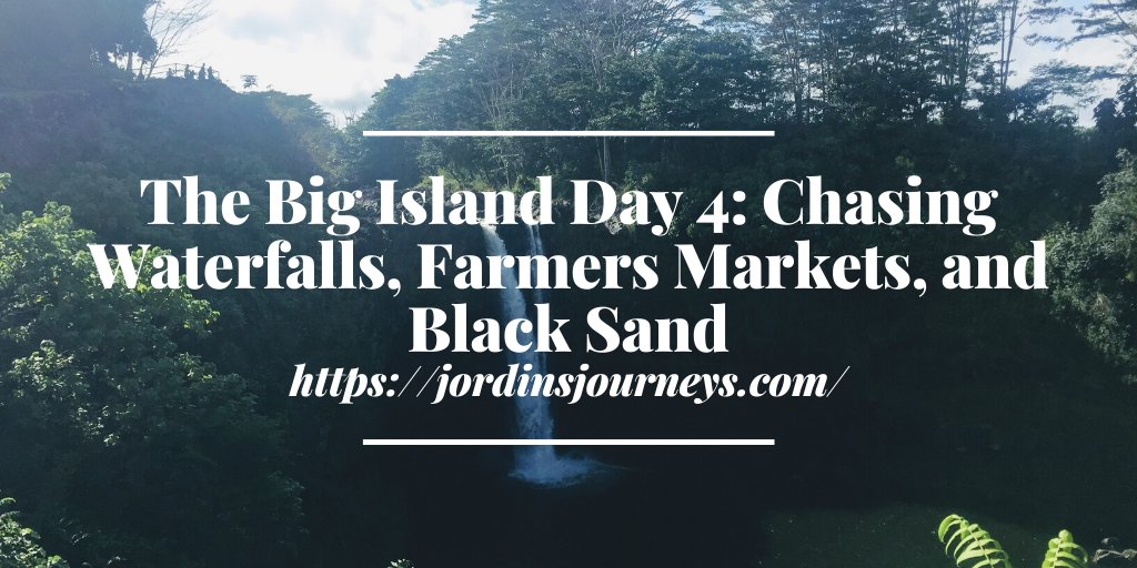 As we made our way around the east side of the island of #Hawaii, we explored #waterfalls, famers markets, and another black sand beach! Read more about #Hilo, Pohoiki Black Sand Beach, and Laupāhoehoe Beach Park https://jordinsjourneys.com/the-big-island-day-4-poke-waterfalls-and-newest-black-sand-beach/…pic.twitter.com/KL7TXPJ6Xj