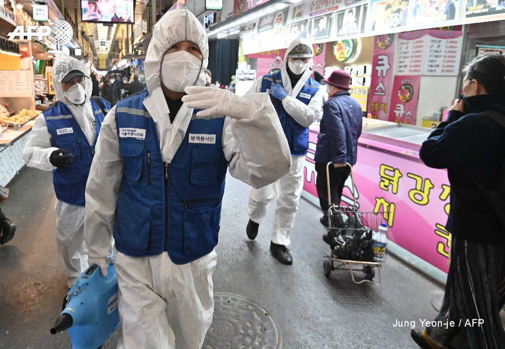#UPDATE #Coronavirus cases in South Korea jump to 1,146 after 169 new infections are reported. An 11th person has died of the disease -- a Mongolian man in his 30s who became the first foreign national to fall victim to the outbreak