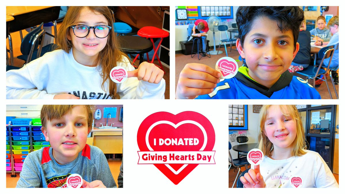 These AMAZING fourth graders raised over $76.00 on @GivingHeartsDay this month for @MoorheadSchools Legacy Foundation! They earned a Popcorn Party from Ms. Shari for raising the most money in Fourth Grade! @sgrspuds #GivingHeartsDay @LegacyMhd #LegacyFoodForThought
