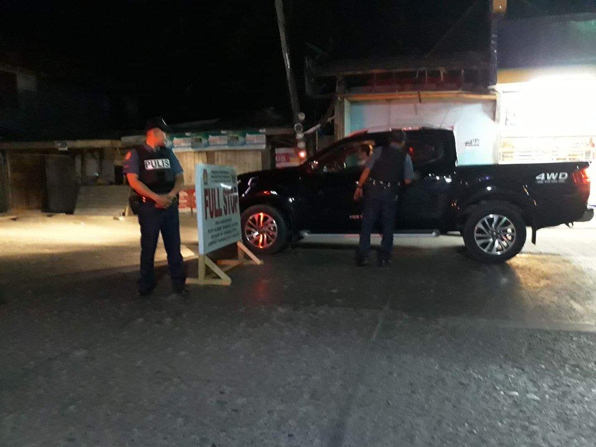 Anti Criminality Checkpoint at brgy Sangali , Zambo City #TeamPNP #PNPKakampimo #WeServeandProtectpic.twitter.com/mDKeVpjsxo