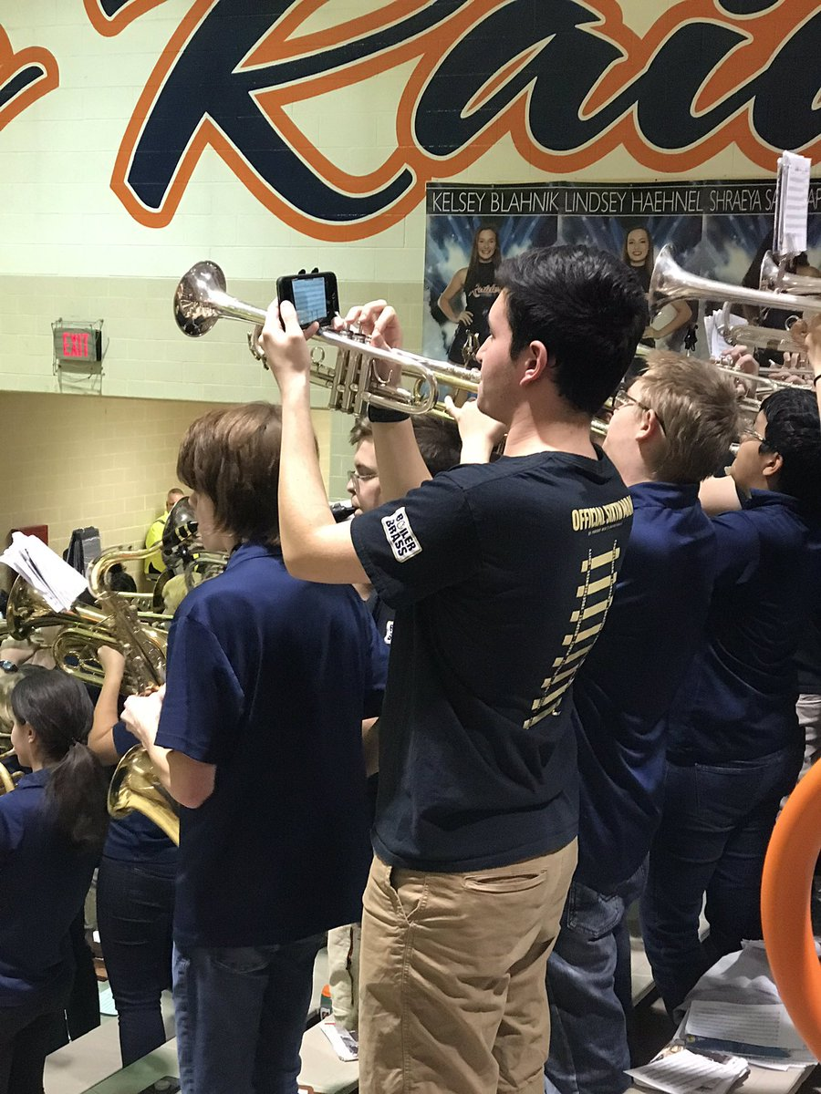 We're just living amidst the genius of this @BoilerBrass trumpet. https://t.co/QGZlZ0sfDf