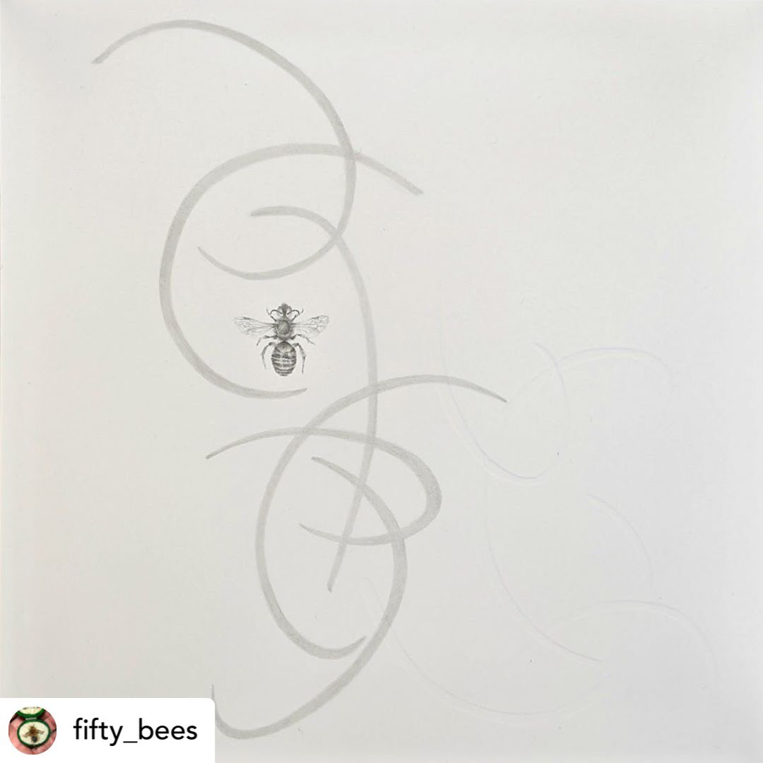 Exhibition News! #SGFA member @Louisa_Crispin is currently exhibiting with @FiftyBees @BlackSwanArts until 14March#bees #savethebees #artexhibition #Frome #contemporarydrawing #artcollectors https://twitter.com/fiftybees/status/1232550002800631810 …pic.twitter.com/X6BM0nZiqa
