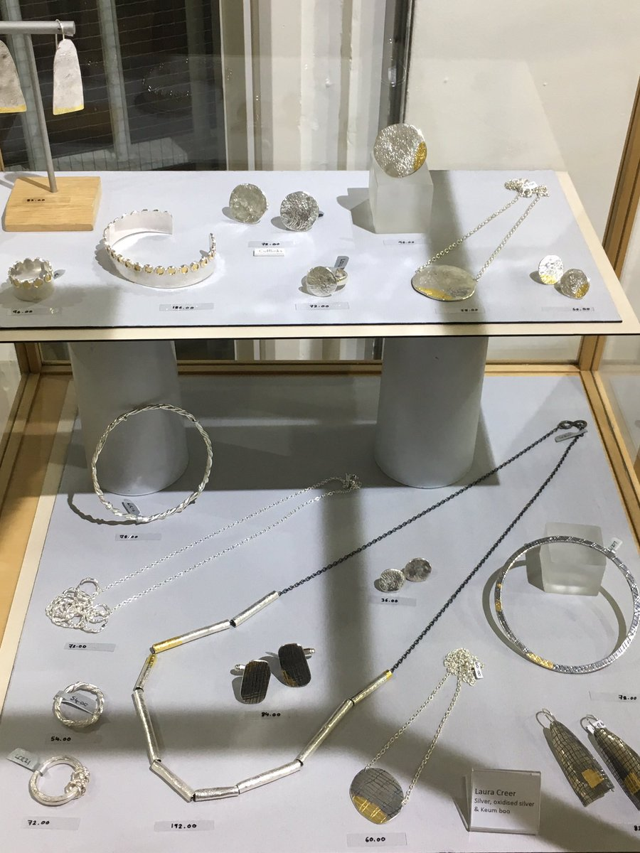 We hope you've been enjoying our exploration of our fabulous makers taking part in our #handmadewithlove show recently. Our final maker we're celebrating is #Yorkshire #jeweller @LauraCreer who creates #silver & #gold #jewellery Discover more here  #whatson
