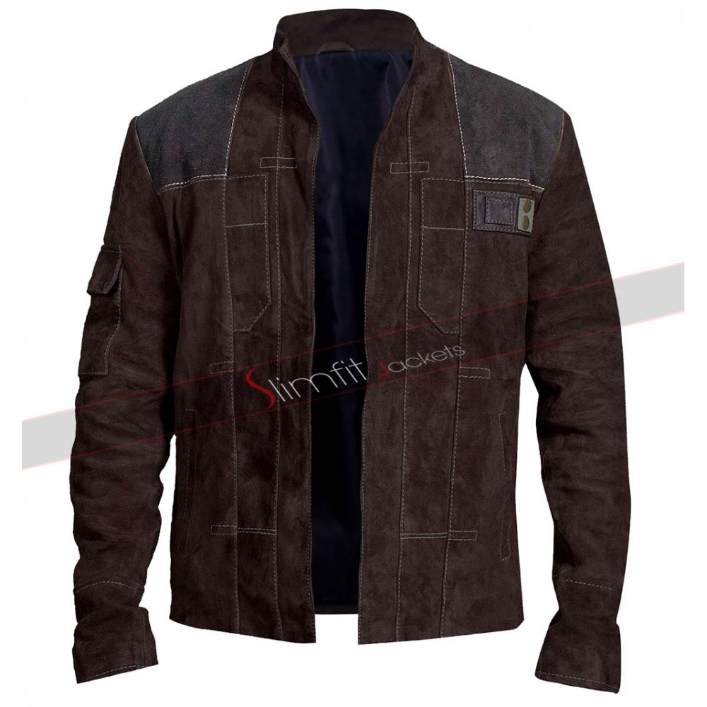 A Star Wars Story Han Solo Alden Ehrenreich Jacket at Discounted Rates With Free Worldwide Shipping. Visit Here: http://bit.ly/35IhXtz  #SudeLeather #StarWars #MensJacket #HanSolo #SlimFitJacketpic.twitter.com/RolCmx5cop