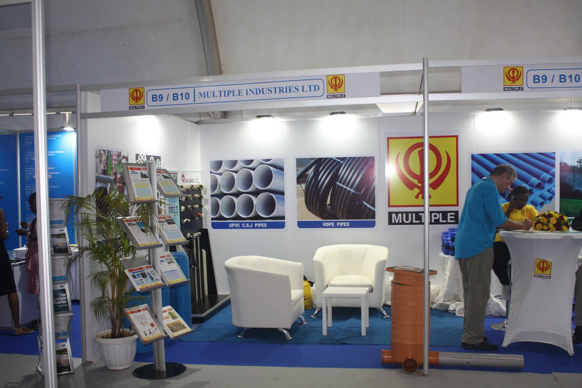 Day 3 of the #AfWA INTERNATIONAL CONGRESS & EXHIBITION.#Tents #ExhibitionBooth #Flooring #Chairs & #Tables #Branding by #Fotogenix Ltd, Uganda your truly function Hire Guru👏👏👏@nwscug @kampalaserena