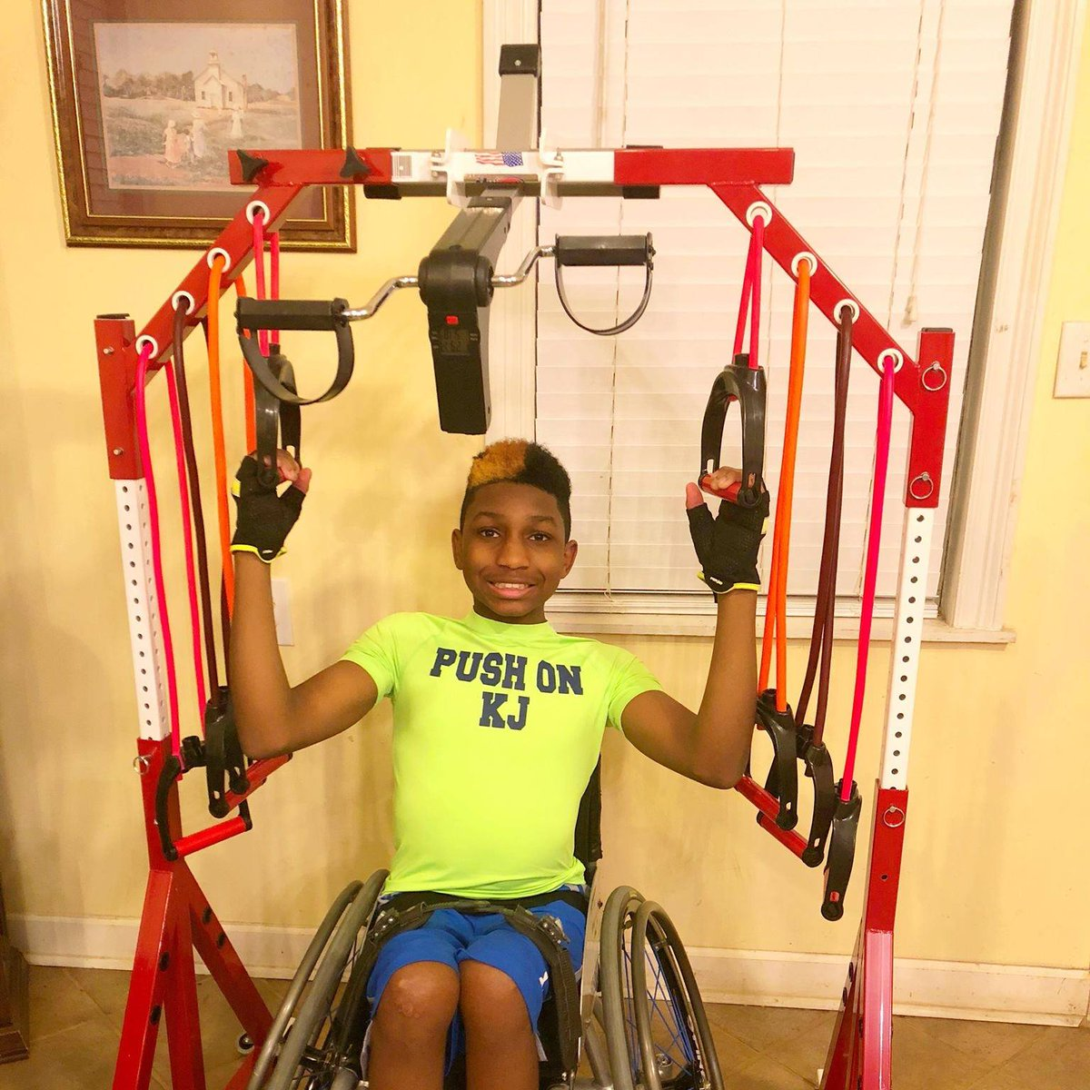 #inclusive #adaptive #adapted #wheelchair #recliner #bed #workout #fitness #portable #exercise #rehab #solution #family #pregnant #injury #surgery .@CNN .@foxnewsradio .@CBS .@NBCNews .@ABC
