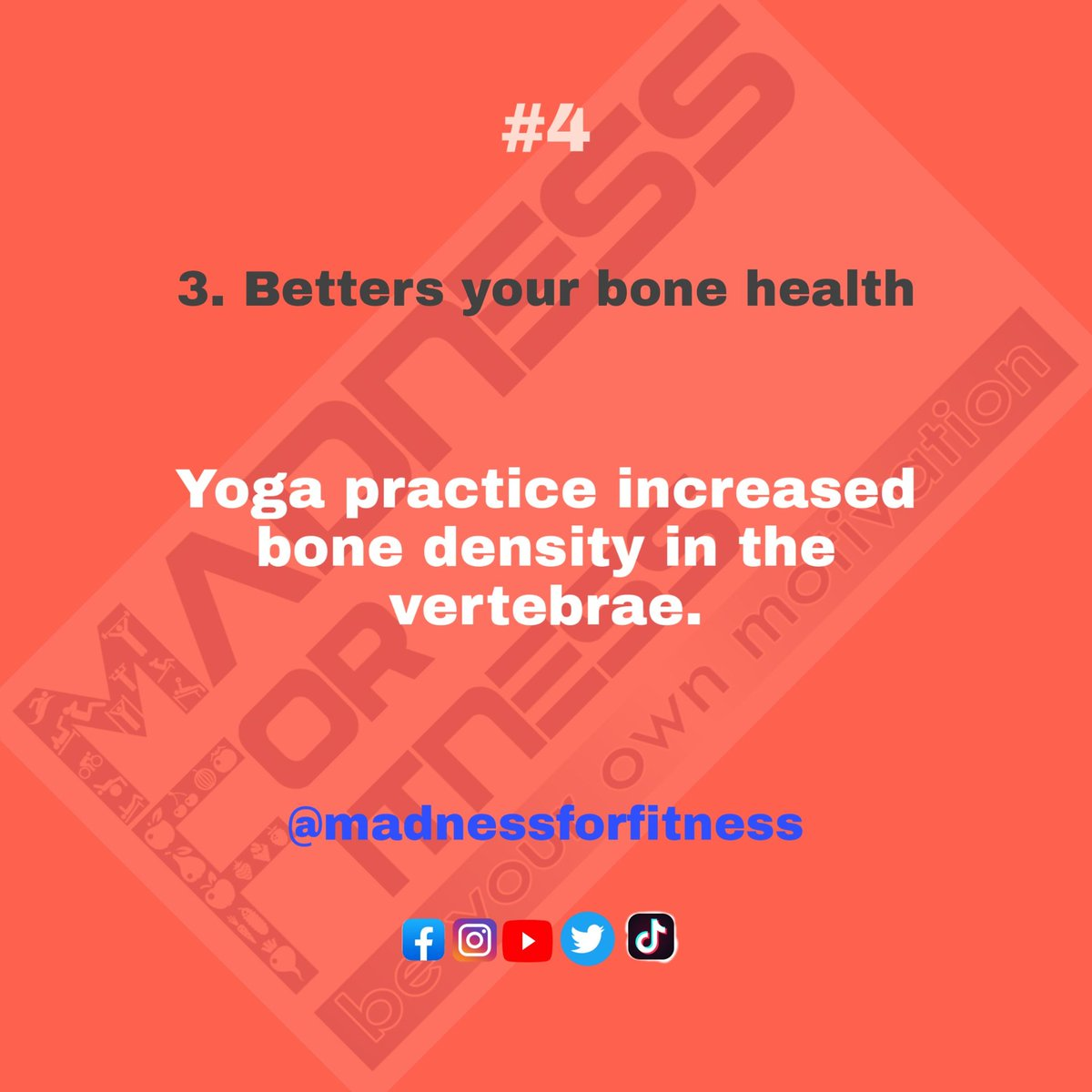 Yaha and sunshine increase your bone density....💪💪💪💪 Follow @madnessforfitness  #madnessforfitness #yoga #workout #exercise #gym #nutrition #vitamins #food #fruits #health #fitness #bone #sunshine #power #wealth #fasion #style #nevergiveup #yogasehoga