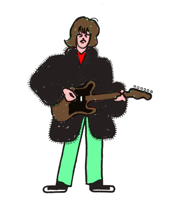 A last minute happy birthday to George Harrison <3 <3 <3
