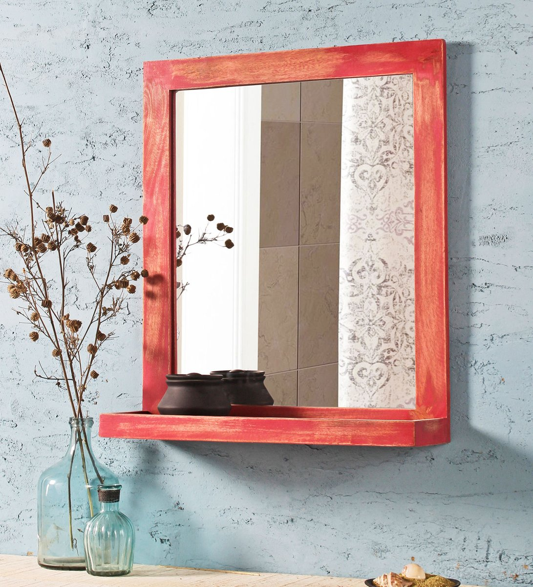 Made you look Featured: Wood Wall Mirror by Fabuliv   #pepperfry #happyfurnituretoyou #shop #onlineshopping #studiopepperfry #furniture #home #indianhomes #india #happiness #designs #interior #decor #homedecor #mirror #look #goodlooking #gorgeous #beautiful