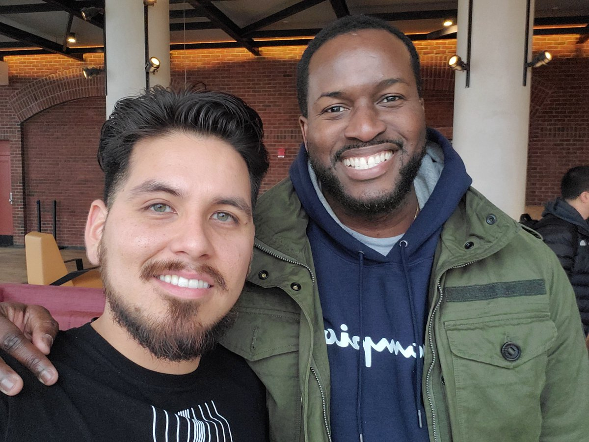 Here's me with the sezzy man himself.   Shot with the selfie camera on the Samsung Galaxy Z Flip  #sezzy #ColonelSingala #booredatwork #selfie