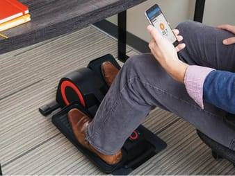 Sweat it out while sitting down with the Cubii 💪💪🏾  #Exercise #TheInvisibleMan #DemDebate #democraticdebates #BTSCarpoolTONIGHT #CouldaHadYang #dembebate  #Exercise #fitness #health #underdesk #workout