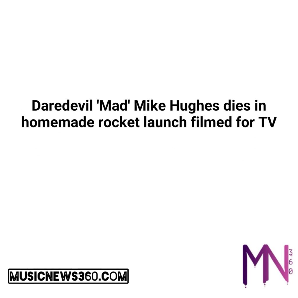 Daredevil 'Mad' Mike Hughes dies in homemade rocket launch filmed for TV  #musicnews360 #music #newsong #lovethissong #listentothis #cannabis #california #business #news #love #follow #comment #tweegram #stocks #money #trump #democrats #nsfw