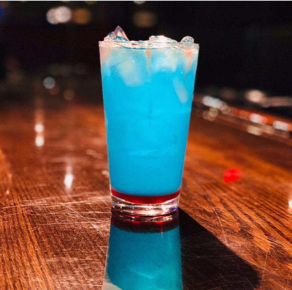 Sky blue 🌴 #bishamon #bishamonrestaurant #bishamonkaraoke #bishamonsportsbar #japan #japanese #japaneserestaurant #japanesebar #sake #beer #asahi #kirin #sapporo #bishamonsake #covina #california #downtowncovina #la #foodie #food #drink #party #eat #karaoke #bar #instafood