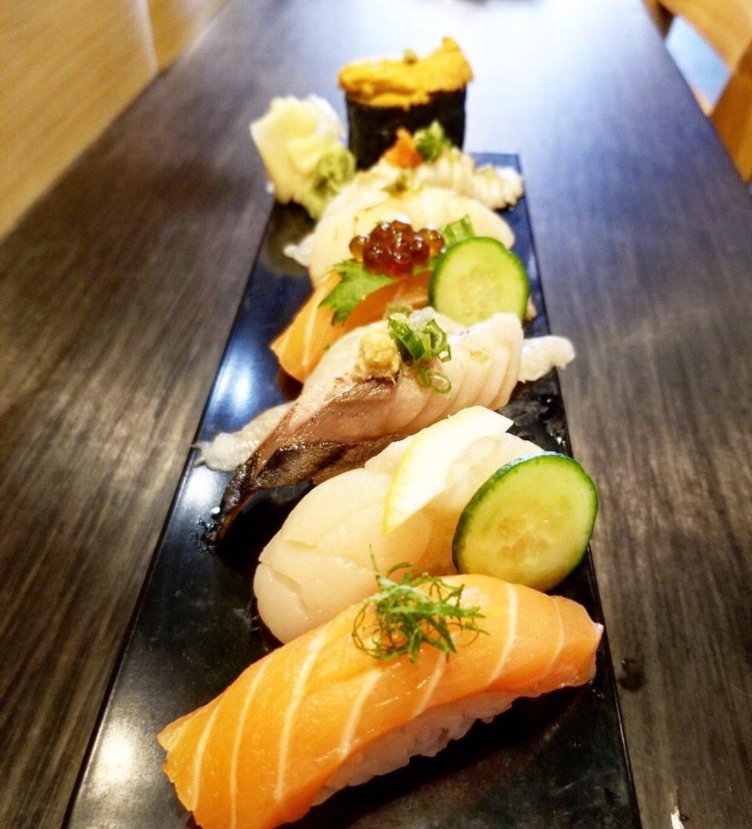 Sushi 🍣 #bishamon #bishamonrestaurant #bishamonkaraoke #bishamonsportsbar #japan #japanese #japaneserestaurant #japanesebar #sake #beer #asahi #kirin #sapporo #bishamonsake #covina #california #downtowncovina #la #foodie #food #drink #party #eat #karaoke #bar #instafood #insta