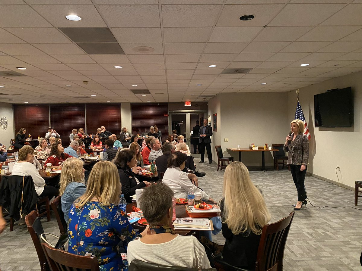 Great time speaking to the Ahwatukee Republican Women tonight! Thanks for having me out @ARWomen