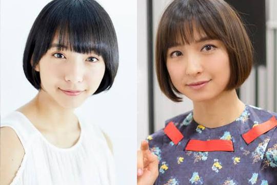 山之内すずと篠田麻里子は似てる