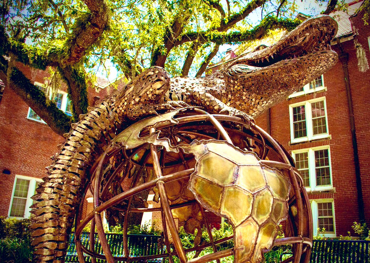 Gator Nation is everywhere. Reply with your location on the globe.
