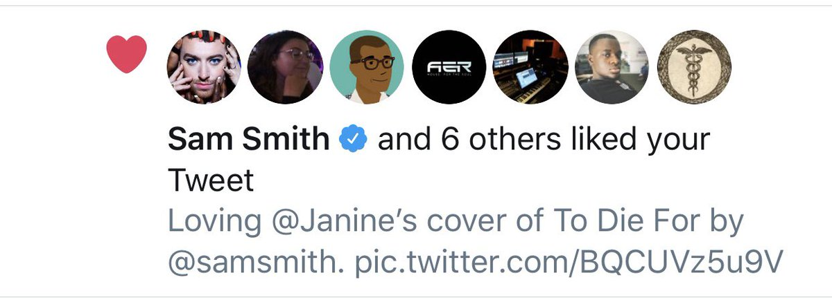 So is @samsmith, apparently. Too cool.