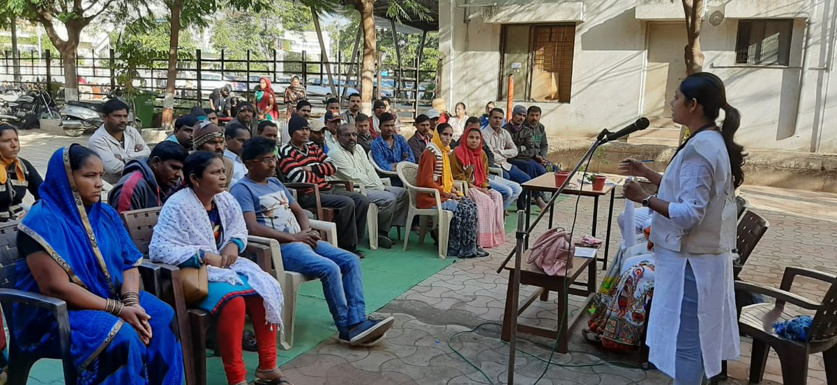 @ngpnmc & @green_vigil conducted interactive session with Parents & Students at Valmiki Nagar Hindi Madhyamik School & Sane Guru Ji Urdu Madhyamik School on Swachh Bharat Abhiyan, Swachh Survekshan 2020, Ban on single use plastic & contribution of Citizens,etc. https://t.co/11EFRSXtGd