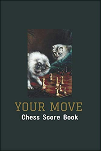 Perfect gift for your favorite chess player                                            #chess #chessboard #chessplayer #chessgame #chesslover #checkmate #chesslife #chessmaster #chessclub #dianasbookshelf #cat #tnr #lovemycat #catsandchess #catdad