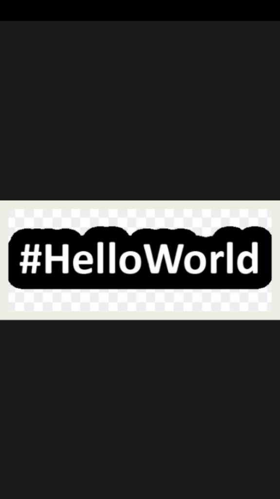 Hello World!!!!!                             #helloworld #FirstTweet #NewTwitter #follow #FolloMe