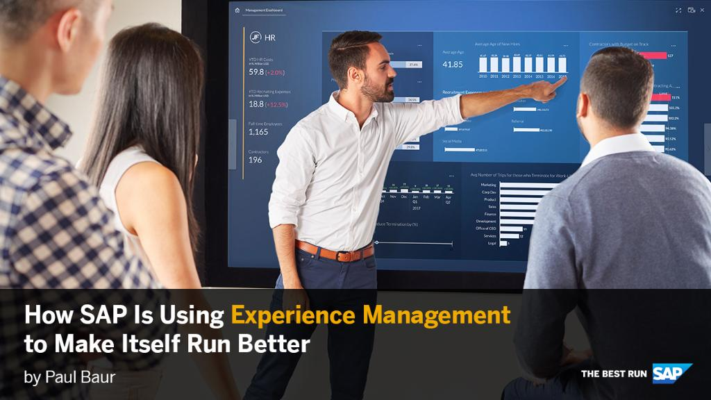 Experience Management (#XM) is a key growth catalyst for the #IntelligentEnterprise strategy.  See how SAP created its own world-class XM practice: http://sap.to/60131mkNS