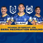 Image for the Tweet beginning: Eels name squad to face