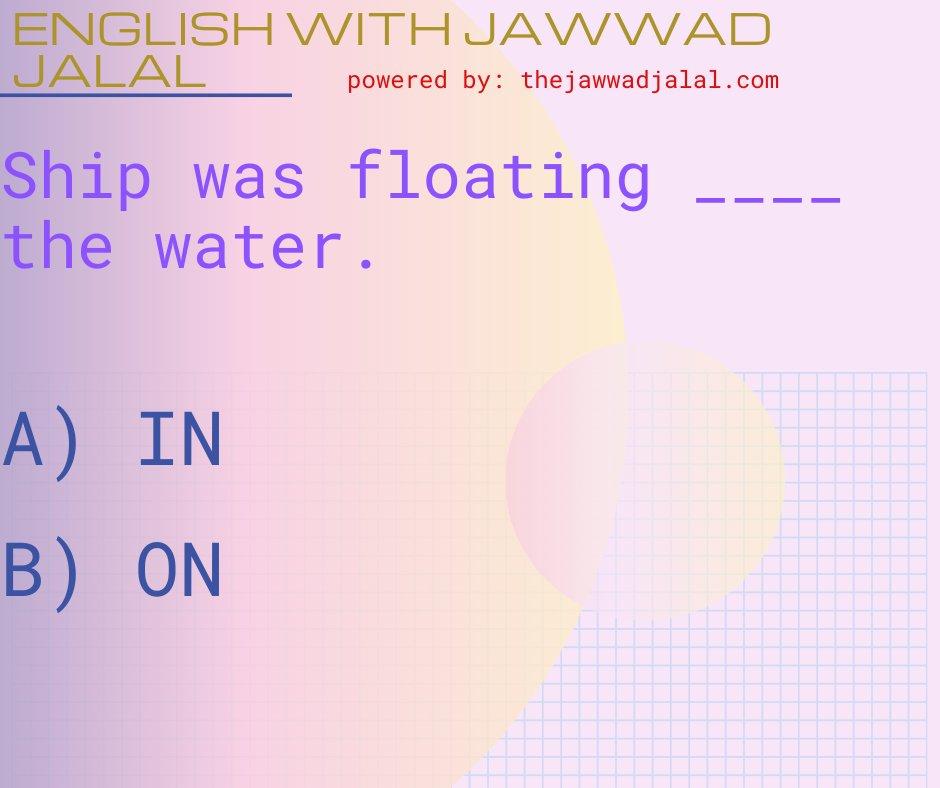 #thelearningart #englishwithjawwadjalal #jawwadjalal #jawadjalal #englishlanguage #englishgrammar #englishlearning #englishlesson #englishlessons #prepositions #englishteacher #englishspeakerpic.twitter.com/19OlYmwcMh