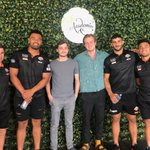 Our lucky lunch competition winners, Theo and Ted, dining with @WestsTigers stars @DNofoaluma, Jock Madden, Zane Musgrove, and Alex Twal at Cafe Academia! Want your chance to WIN? Keep your eyes peeled over the coming weeks. 👀 #BrydensLawyersWEDO #OurJungle #Competition