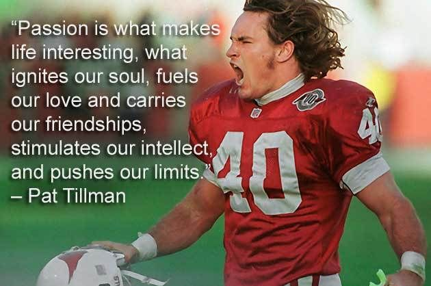 Pat Tillman.- #quote #leadership https://t.co/ZTYlo26RSA https://t.co/wXZLbNrLiE