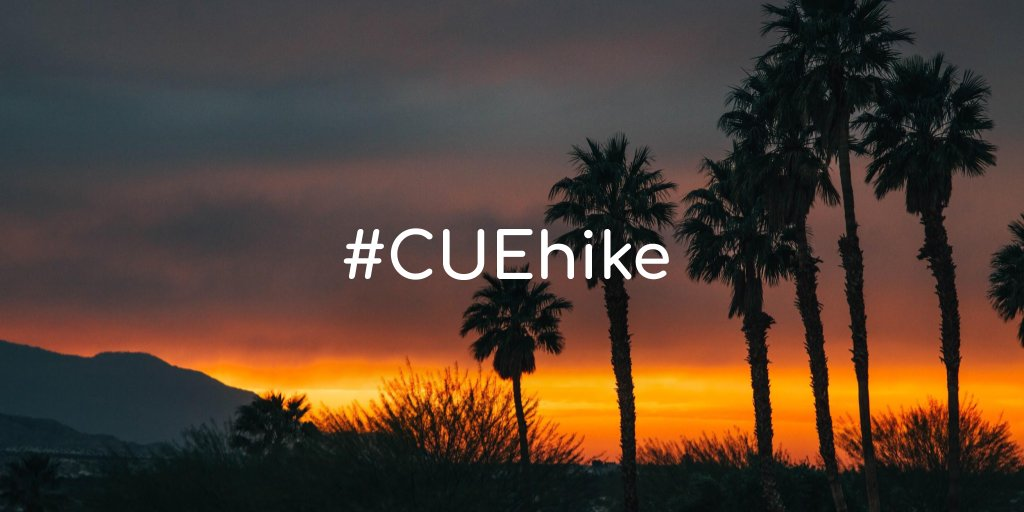 #CUEhike is coming. #SpringCUE