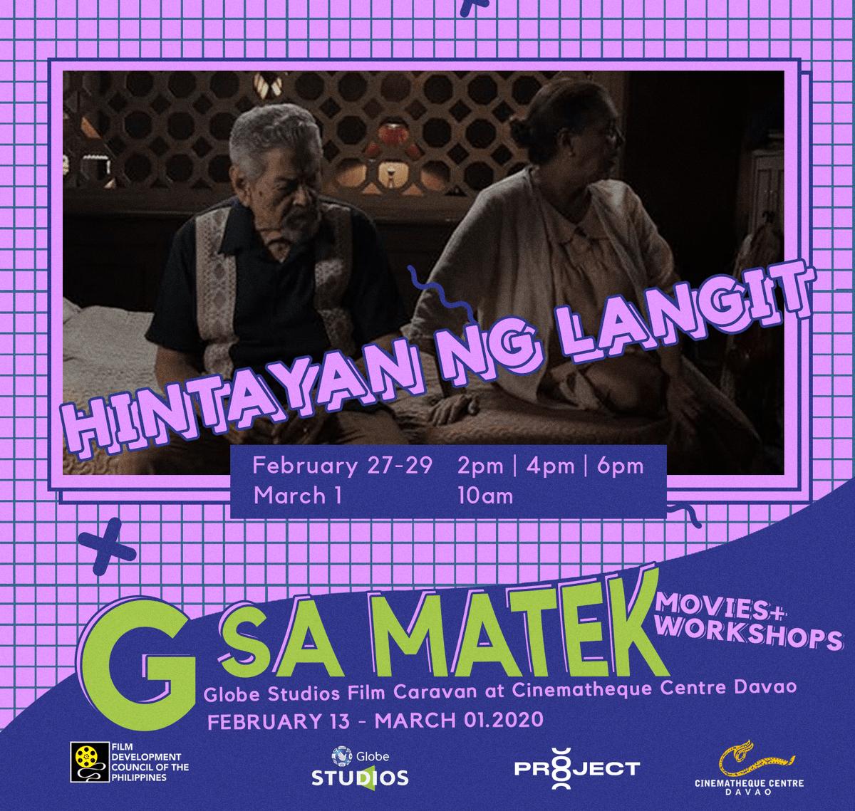 TOMORROW:  𝐇𝐢𝐧𝐭𝐚𝐲𝐚𝐧 𝐍𝐠 𝐋𝐚𝐧𝐠𝐢𝐭   2 PM   |   4 PM   |   6 PM  Don't miss the chance to watch it on the big screen!  #GSaMatekpic.twitter.com/7DeqJjdG4Z