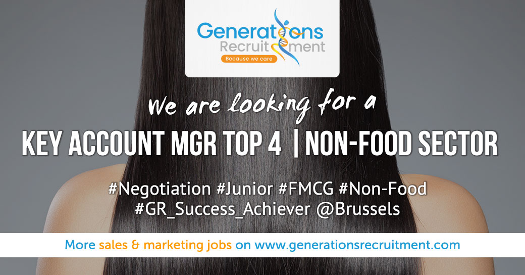 We are looking for a KEY ACCOUNT MANAGER TOP 4   NON-FOOD SECTOR Apply now! http://bit.ly/2HCSbMM  #negotiation #junior #FMCG #Non-Food# #hiring #recruiting #career #newjob #jobopportunity #generationsrecruitment #gr_successachiever #brusselspic.twitter.com/1O3tdx0OhV