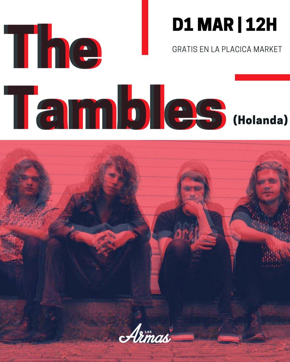 El domingo, desde Holanda, CONCIERTAZO con The Tambles. GRATIS a las 12:00h https://t.co/1T7KapTSL3