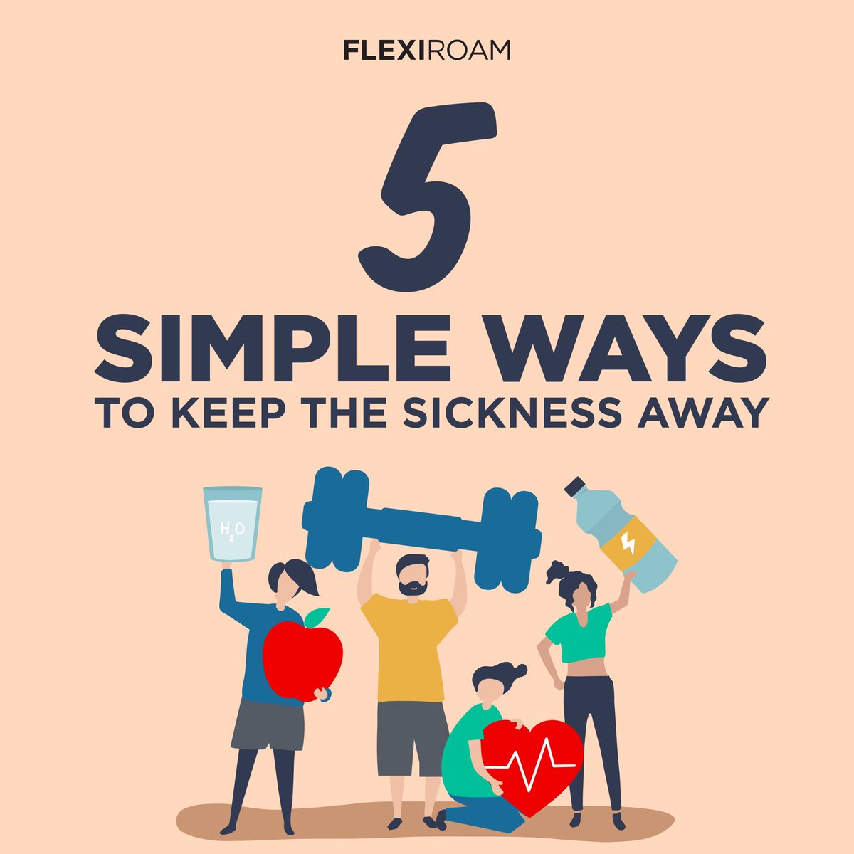 Say BYE 🖐to sickness!   With these 5 simple ways, always remind yourself and your loved ones to #StayHealthy together! https://t.co/BFCAjmKHLA