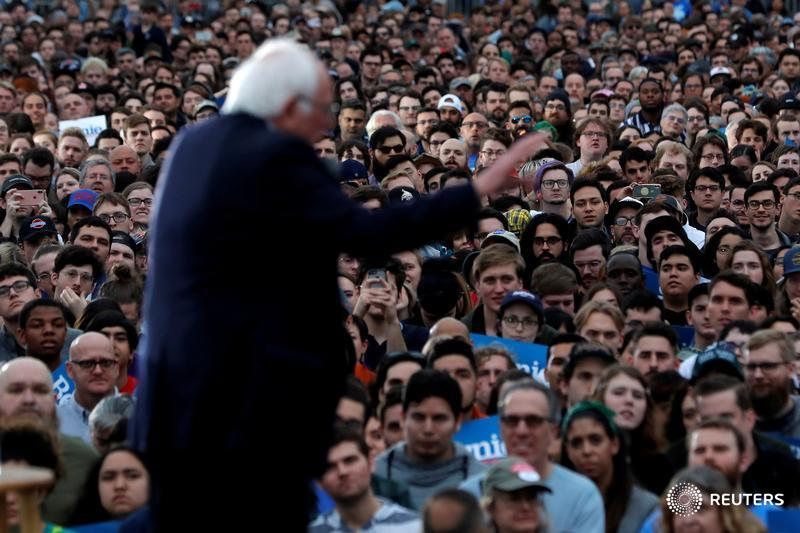 Can Bernie Sanders beat Donald Trump? A growing number of Democratic voters say yes. @JosephAx reports https://reut.rs/2PrFSHF